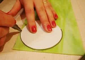 círculo de vidro