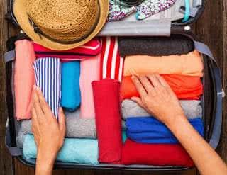 roupas para viagem