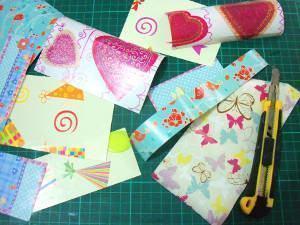 caderno patchwork