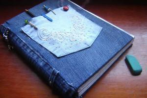 capa livro jeans