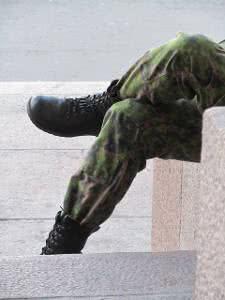 botas exército