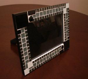 Porta-Retrato em Mosaico