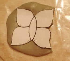 pingente mosaico borboleta