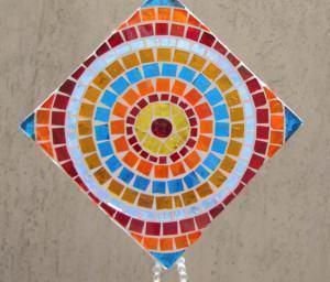 Móbile de Mosaico em Mandala