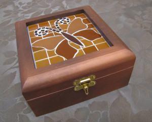 Caixa de Borboleta em Mosaico