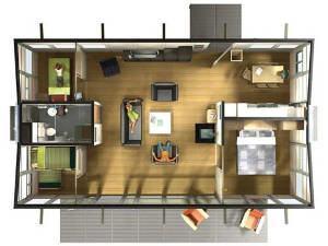 casa pre fabricada projeto
