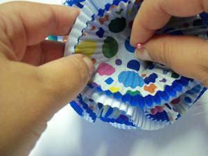 bolas forminhas cupcake