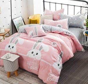 cama de coelhinho menina