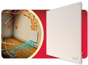 painel aquecedor parede