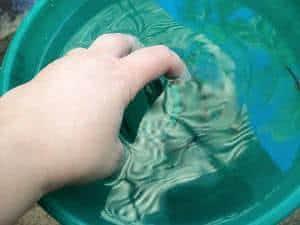 vaso jateado vidro