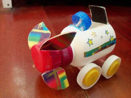 carrinho reciclado elástico