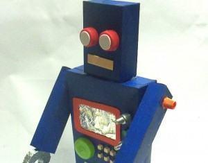 Robô De Sucata Como Fazer Um Para As Crianças Brincarem Fazfácil