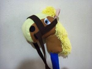 Cavalinho de Pau Feito em Casa
