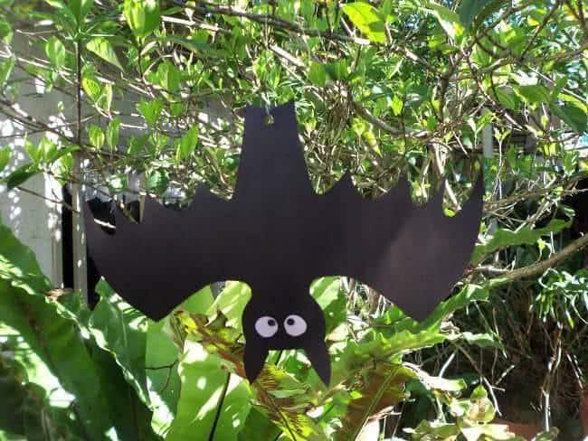 Morcegos Halloween Para Pendurar Fazfacil