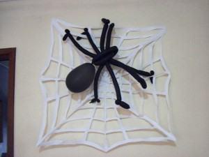 Como Fazer uma Aranha com Balões