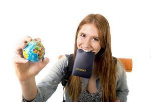 viagem intercambio passaporte