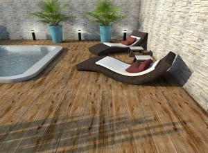 Decks para Piscinas: Materiais