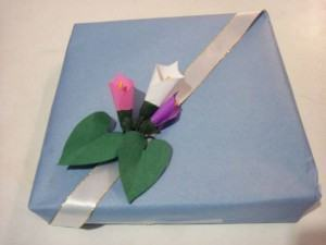 Copo de Leite para Enfeitar Presentes