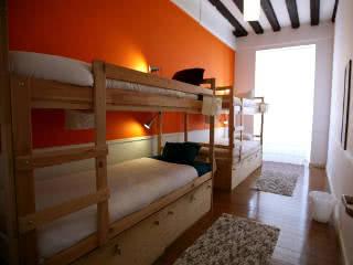 hostel quartos