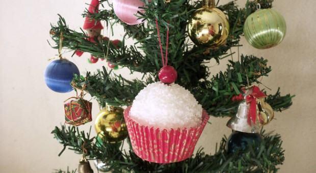 Cupcake para Árvore de Natal