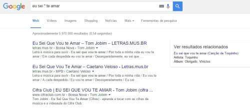 asterisco google