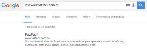info google