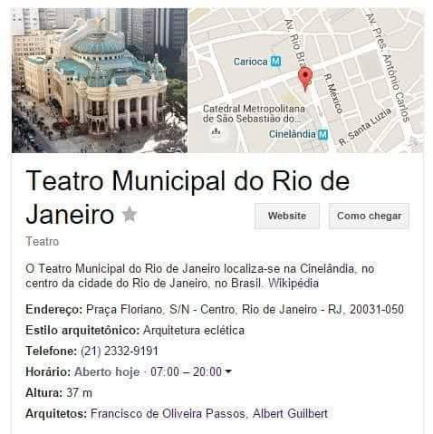 teatro municipal google