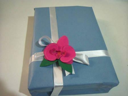 orquidea de papel