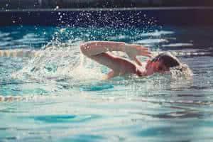natação criança