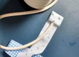 cestinha fios retalhos