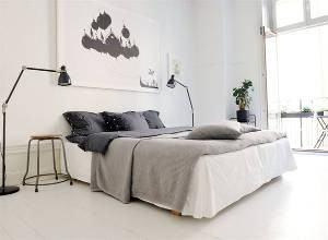 quarto decoração escandinava