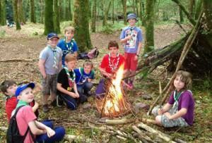 escoteiros acampamentos