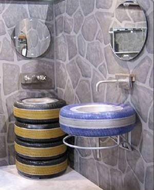 banheiro pneus