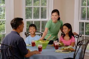 jantar família