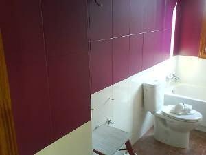Como pintar azulejos - Pintura baldosas bano ...