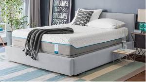 cama colchão quarto