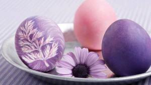 Pinte Ovos com Tintas Naturais