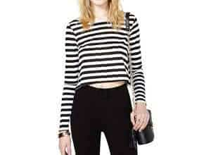 camiseta crop