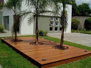 deck eucalipto