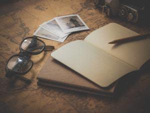 mapa caderno viagem