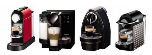Máquinas Nespresso