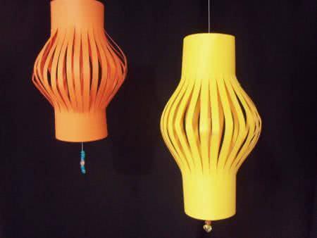 lanternas de papel chinesas