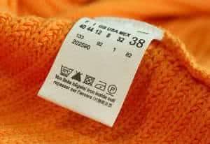 etiqueta roupa