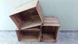 estante de caixotes