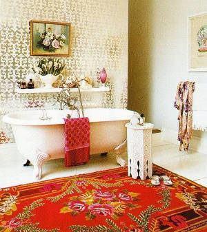 banheiro boho