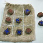 Brinde de Jogo da Velha Com Pedras