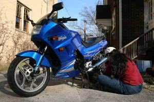 manutenção moto