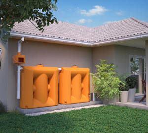 cisterna modular água da chuva