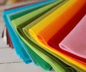 feltro colorido