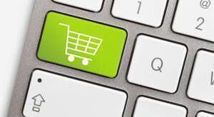 teclado carrinho de compras